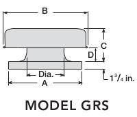 FLAT ROOF CAPS - CURB CAP - MODEL GRS